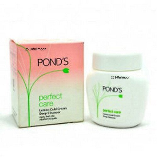 60 ml. Pond's Makeup Remover Perfect Care Lemon Cold Cream Deep Cleanser Face