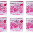 6X 60 g. K Brothers Gluta Collagen Whitening Soap Reduce Dark Spots Brightening