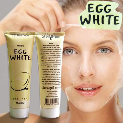 85 g. MISTINE Egg White Peel Off Mask Reduce Acne Cleanser