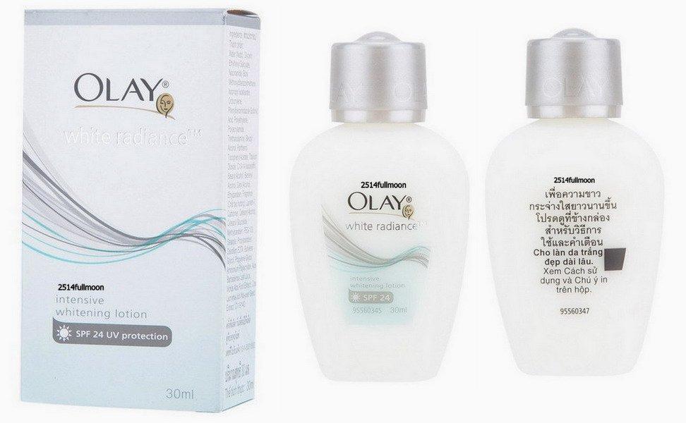 30 ml. Olay White Radiance Intensive Whitening Lotion SPF 24