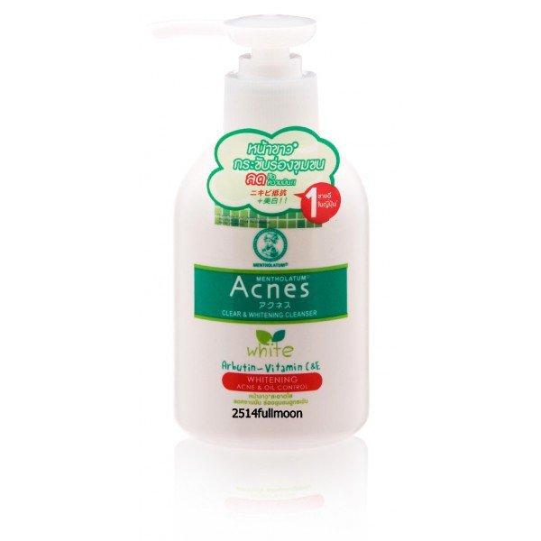 150 g. Mentholatum Acnes Whitening Pore Cleanser Face Wash