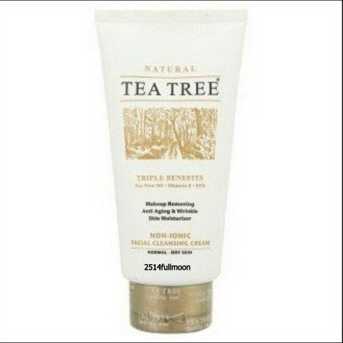 140 g. Tea Tree Deep Clean Non-Ionic Anti - Aging Wrinkle
