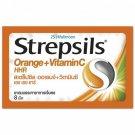 3 Packs STREPSIL ORANGE VITAMIN C Lozenges For The Relief Of SORE THROATS