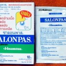 3 Boxes 30 Patches SALONPAS Hisamitsu Plasters Effective Aches Pain Relief