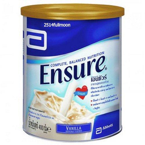 400 g. ENSURE Complete Balanced NUTRITION VANILLA Flavor