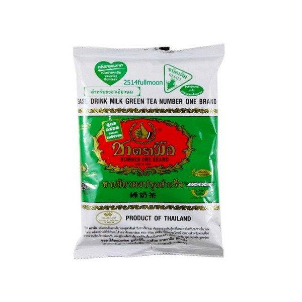 200 g. Green Tea Hot Or Cold Mix Original Thai Tea Number One Brand