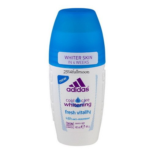 40 ml. ADIDAS Women Roll On Cool & Care Whitening Fresh Vitality 48H Protection