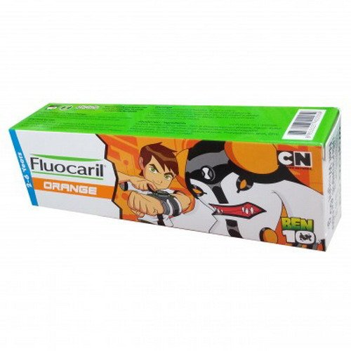 65 g. FLUOCARIL Ben10 Kids Toothpaste Age 2-6 Years Old