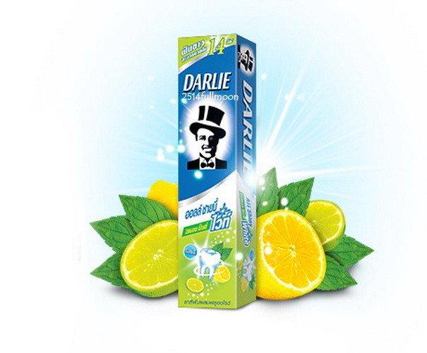 140 g. Darlie All Shiny Fluoride Whitening Toothpaste Lemon Mint