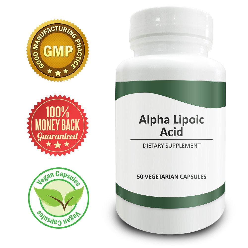 Pure Science Alpha Lipoic Acid 600mg - Regulates Blood Glucose Level