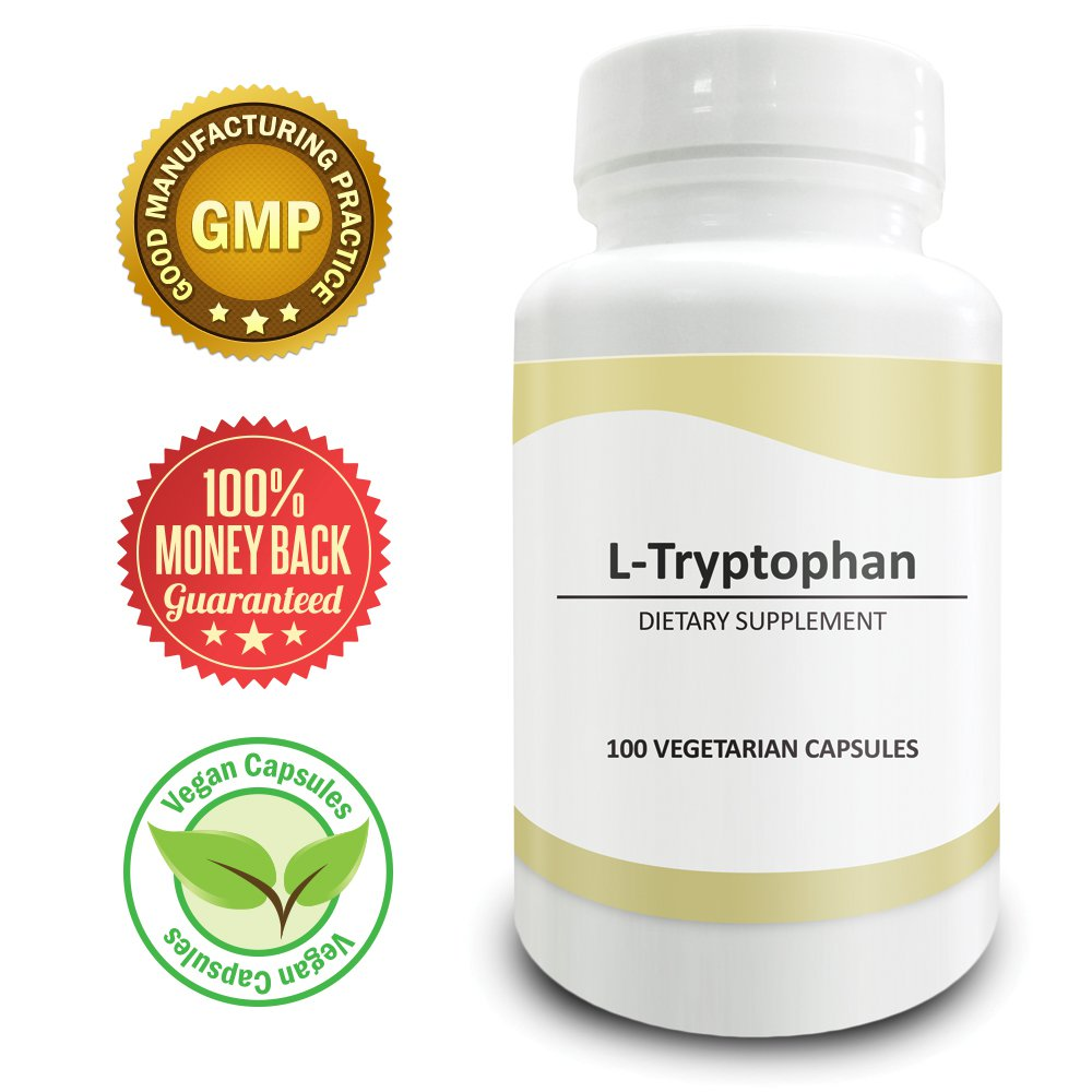 Pure Science L-Tryptophan 500mg � Regulates Mood, Improves Relaxation & Sleep