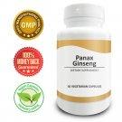Pure Science Red Panax Ginseng 600mg - Increase Vitality & Libido