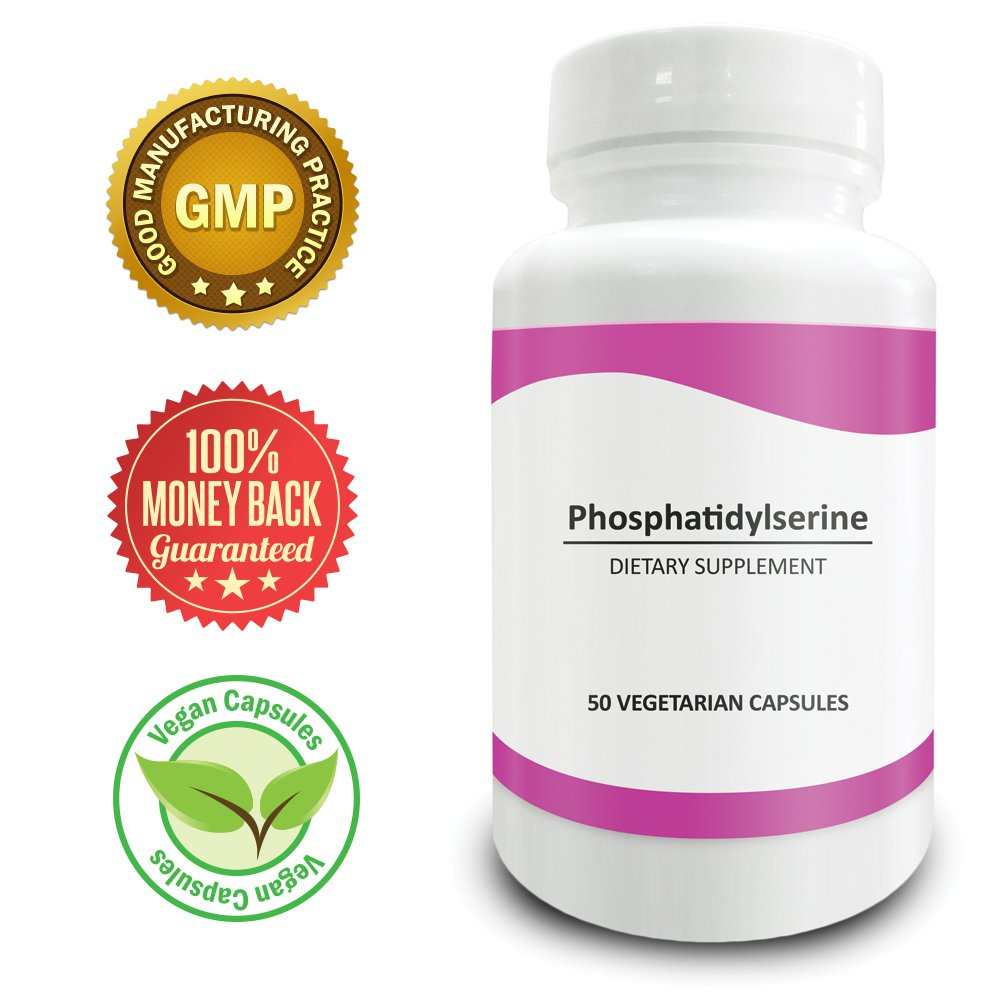 Pure Science Phosphatidylserine 100mg (From Soy Lecithin) � Improves Cognition