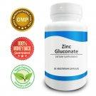 Pure Science Zinc Gluconate 60mg – Boosts Immunity & Cell Regeneration