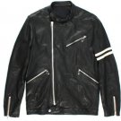 Rhythm Black Leather Jacket