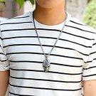 Hip Hop Skull Pendant Necklace for Men