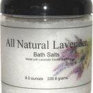 All Natural Lavender Bath Salts