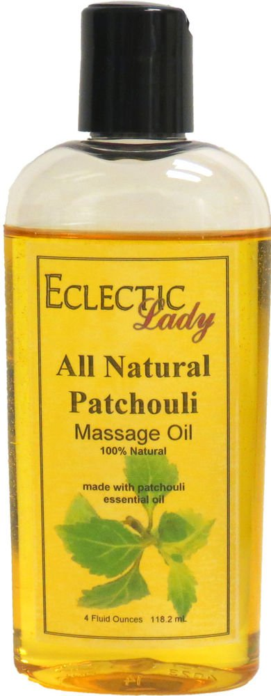 Patchouli All Natural Massage Oil