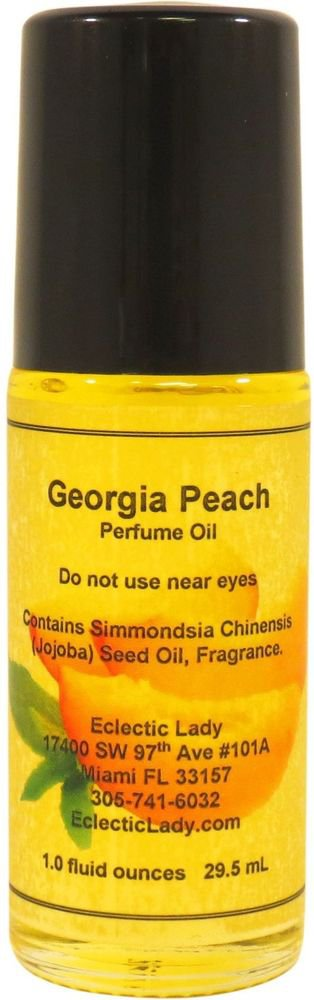 Georgia Peach Perfume Oil, Roll On Perfume Oil