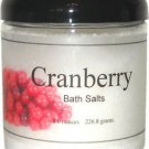 Cranberry Bath Salts