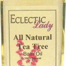 Tea Tree All Natural Bath Oil