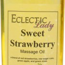 Sweet Strawberry Massage Oil
