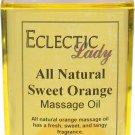 Sweet Orange All Natural Massage Oil