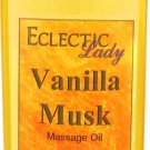 Vanilla Musk Massage Oil