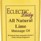 Lime All Natural Massage Oil