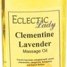 Clementine Lavender Massage Oil