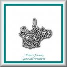Children's Jewelry Fancy Daddy's Little Girl Sterling Necklace/ Free Shipping