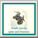 Childrens Jewelry Motocross Sterling Silver Necklace/ Free Shipping