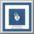 Baby Fine Children's Jewelry Tiny Heart Silver Necklace/ Free Shipping
