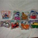 McDonalds Happy Meal Toys Disneyland Adventures Set/MIP