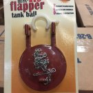 B-257RV Heavy Duty Red Flapper Tank Ball