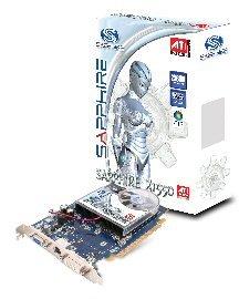 SAPPHIRE RADEON X1550 PCI-E 256MB TV/DVI (LITE)