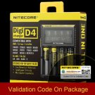 Nitecore D4 Digicharger LCD Intelligent li-ion 18650 14500 16340 26650 Battery Charger