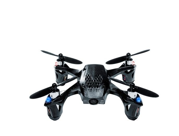 HUBSAN H107D X4 RC Quadcopter Drone with FPV Camera (Black)