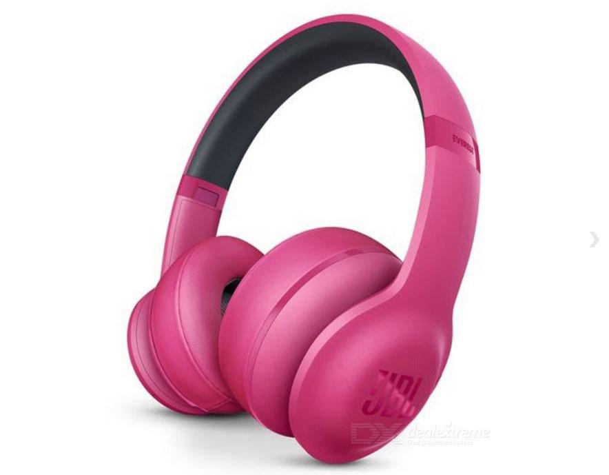 JBL Everest 300 Wireless Bluetooth On-Ear Stereo Headphone - Pink