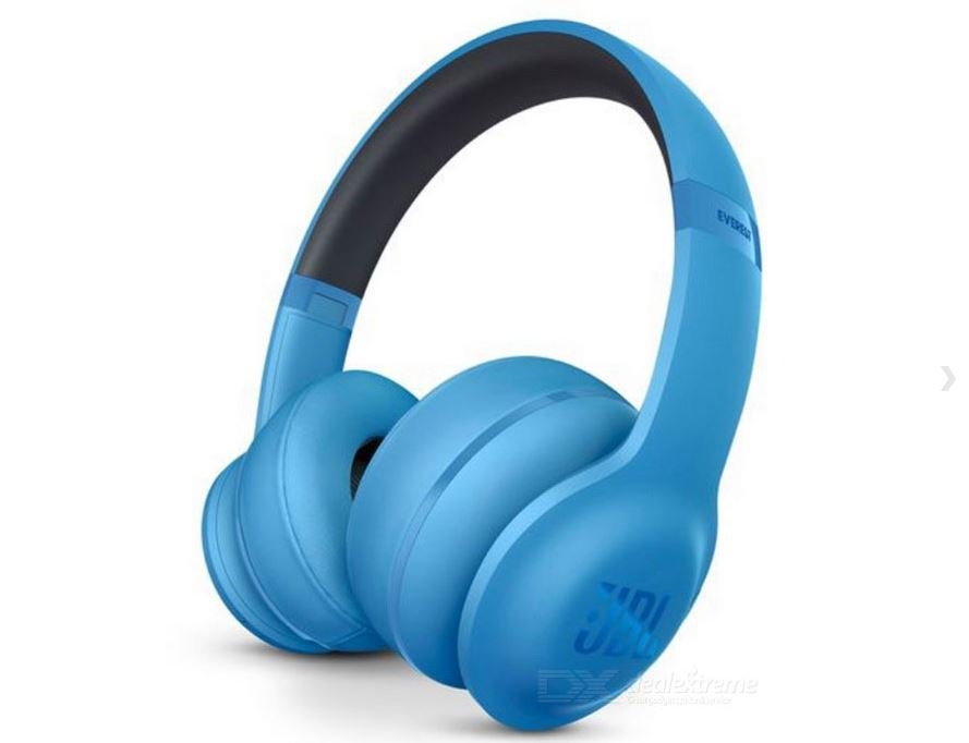 JBL Everest 300 Wireless Bluetooth On-Ear Stereo Headphone - Blue