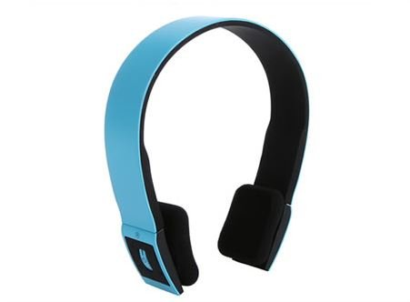 Bluetooth 3.0 EDR 2.4G Wireless Stereo Headset For Smartphone - Blue