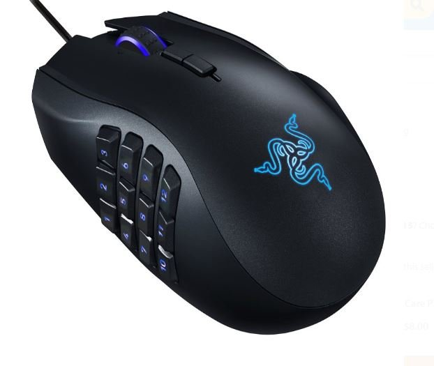 Razer Naga Epic Chroma Wired MMO Gaming Mouse