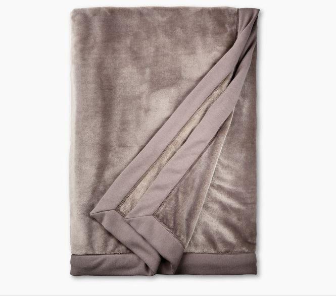 Ugg Duffield Throw Soft Blanket - Stormy Grey
