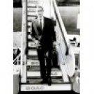 Marlon Brando disembarking from an airplane Photo Print