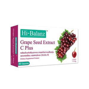 Hi-Balanz Grape Seed Extract C Plus (30 Capsules)