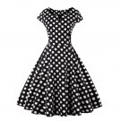 Style Polka Dot Pattern Dress