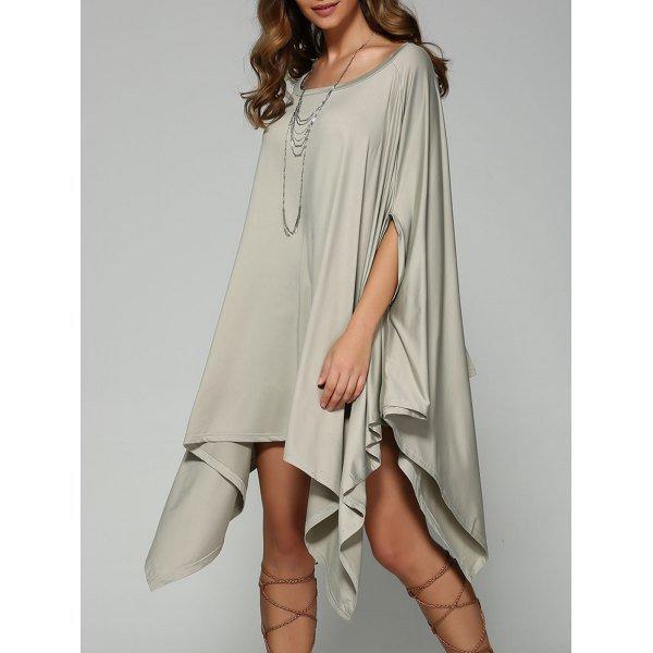 Oversized Handkerchief Dress