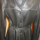 ADLER GENUINE LAMBSKIN MENS LEATHER JACKET SIZE L