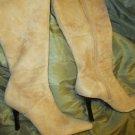 Golden Suede DIBA BOOTS 10M