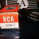 RCA 6SK7 Vintage Tube & Tube Socket